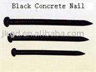 Black Concrete Nail